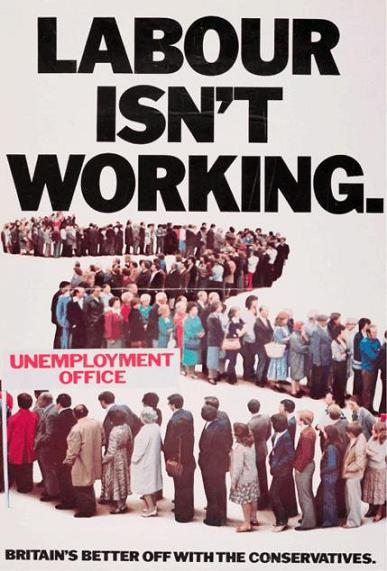 Labour isn't working (1978)- Conservative Party - general election 1979