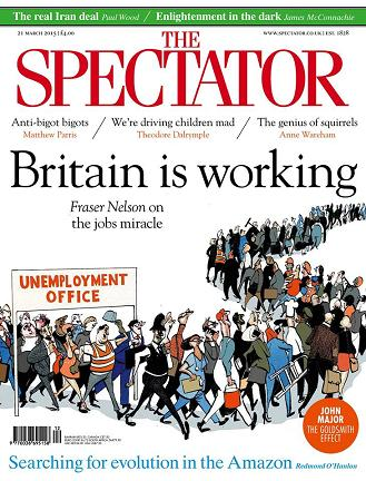 The Specator 21 March 2015