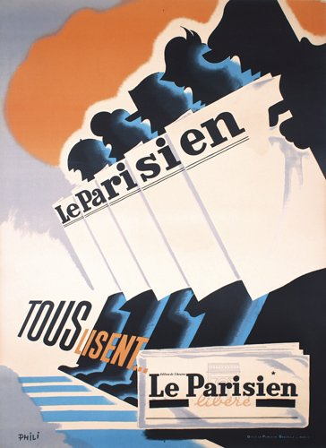 Le Parisien by Phili - Pierre Grach 1898-1987