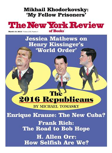 The New York Review of Books - March 19 2015
