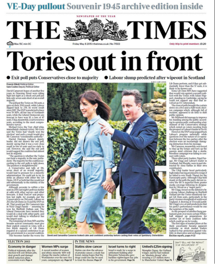 The Times May 8 2015