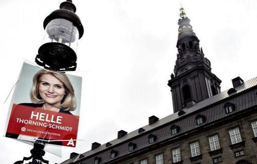 Helle Thorning-Schmidt Election Campaign 2015 - Denmark