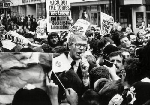 John Major 1992 General Election