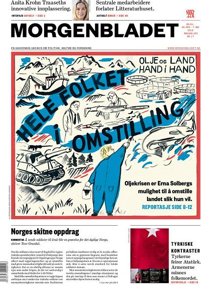 Morgenbladet 30 april-7 maj 2015