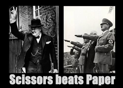 Scissors beats paper by-almcdermid