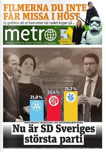 Metro den 20 augusti 2016
