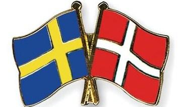 FlagPin Sverige-Danmark