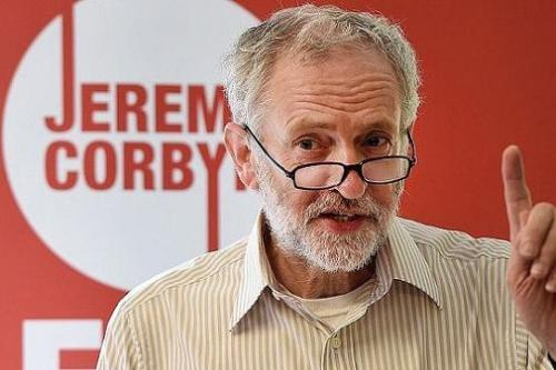 Jeremy Corbyn i The Telegraph - Photo EPA