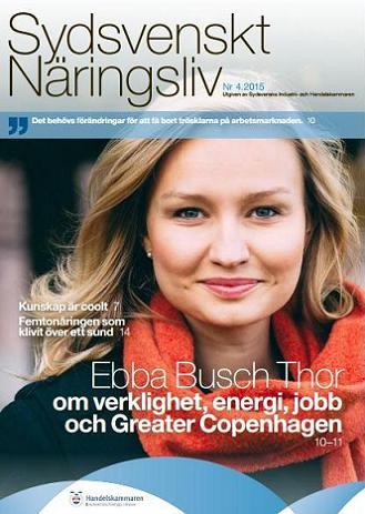 Sydsvenska Näringsliv nr 4 2015