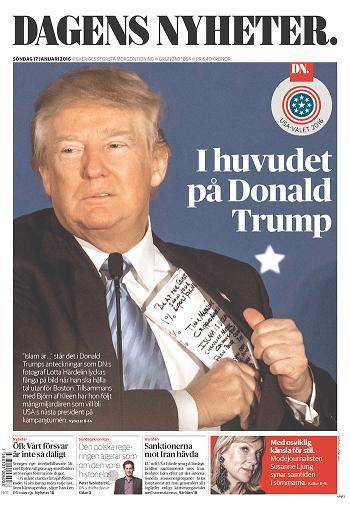 Dagens Nyheter 17 January 2016