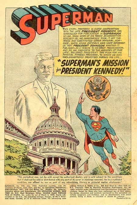 Superman och JFK