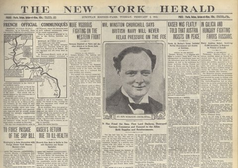 The New York Herald 1915