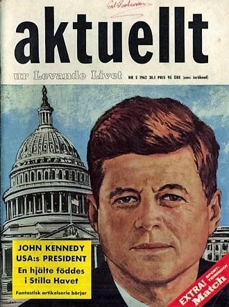 Aktuellt nr 5 1962 John F. Kennedy