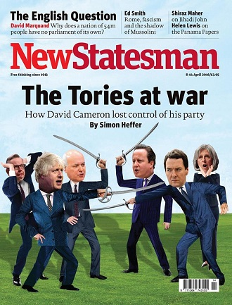 New Statesman 8-14 April 2016