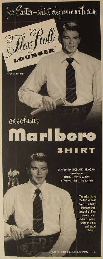 Ronald Reagan Marlboro shirt